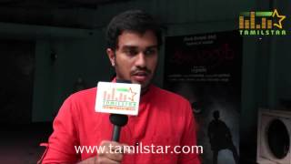 Hemant Kumar at Aalamaram Movie Team Interview