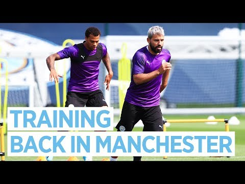 Video: AGUERO & JESUS RETURN | TRAINING PRE COMMUNITY SHIELD