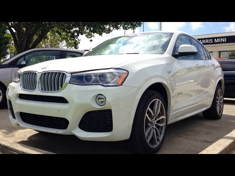 2015 BMW X4 xDrive28i M Sport Full Review, Start Up, Exhaust