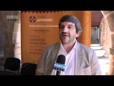 Apresentacao Feira Afonsina em Guimarães