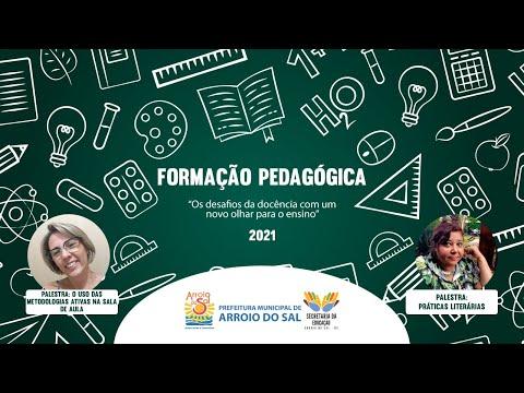 Formação Pedagógica 2021 - Prefeitura de Arroio do Sal