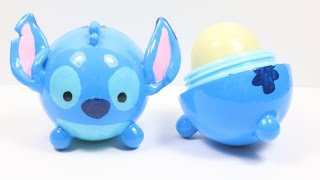 DIY EOS Lip Balm: Stitch Tsum Tsum Tutorial - YouTube
