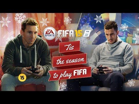 Messi đấu Fifa với Hazard
