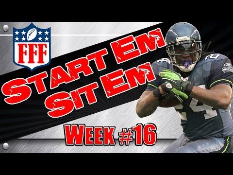 Week 16 Start'Em Sit'Em    Sleepers    Waivers    2014 Fantasy Football