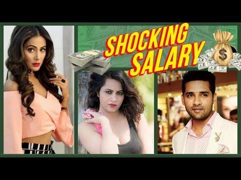 SHOCKING! Hina Khan, Puneesh Sharma SALARY, INCOME