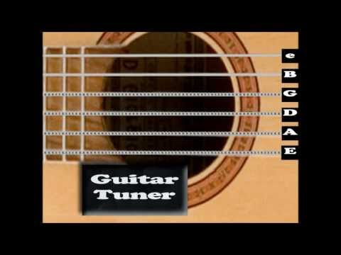 Acoustic Guitar Tuner ( Interactive! )