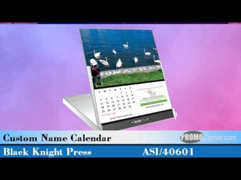 It's time to order your custom printed desk calendars from Unique Marketing Tools
