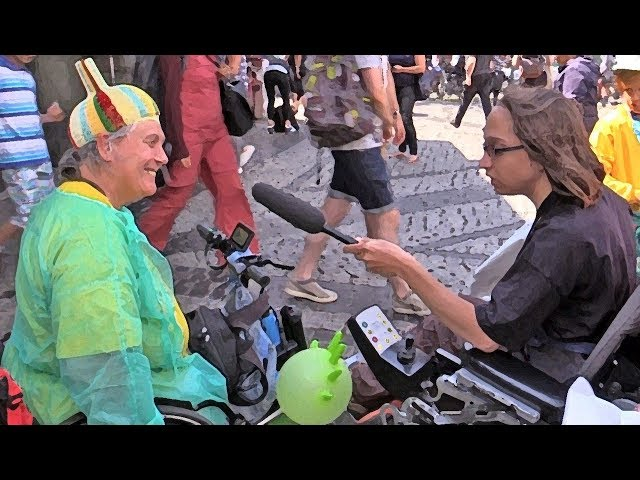 Video - Wahl inklusiv - Menschen mit und ohne Behinderungen machen Filme