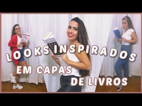 LOOKS INSPIRADOS EM CAPAS DE LIVROS // VEDA #13   Ana Carolina Wagner