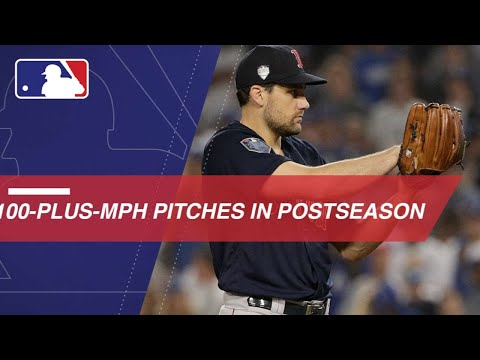 Video: Feel the heat with these 100-plus-mph pitches from the postseason
