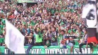Gemuruh Ribuan Bonek saat Launching Persebaya di Gelora Bung T...