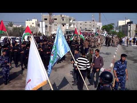 فاصل مسير التحرير في ذكرى حرب حجارة السجيل محافظة رفح