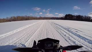 5. Western New York Snowmobiling on the Polaris XCR