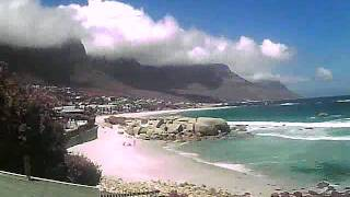 Timelapse Video - Glen Beach & Camps Bay - 01/12/2011