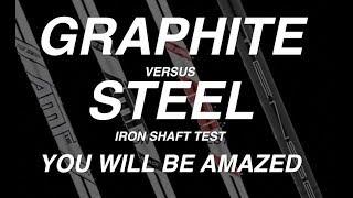 Graphite V Steel shaft in Irons? Game changer?