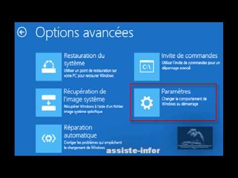 comment démarrer windows 8.1 en mode sans echec