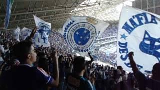 Cruzeiro x Flamengo - C. Brasileiro 2017 - 16/07/2017 Recebimento da torcida cruzeirense Setor Amarelo Superior - Máfia Azul, TFC e Geral Celeste ...