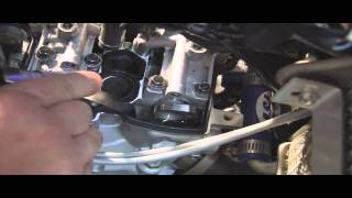 6. How to Check Valve Clearance on a 4 stroke MX Bike. YZ250F Example
