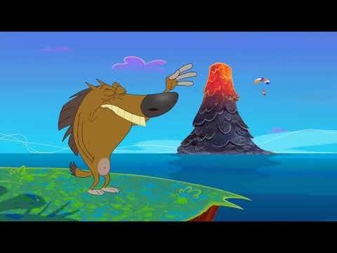 Zig & Sharko  🌋 VOLCANO ONLY 🌋 2020 COMPILATION 🌬 Cartoons for Children