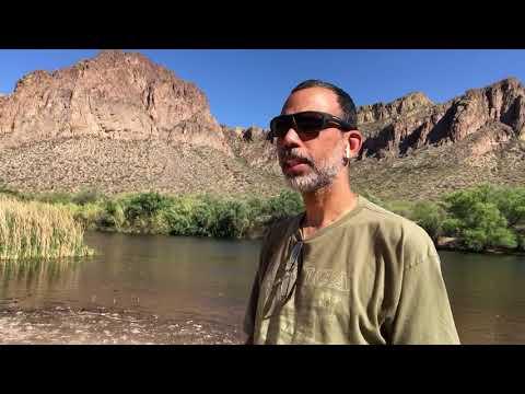 Arizona Tonto Mountai (видео)
