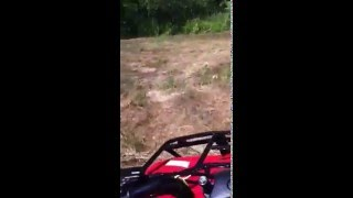 9. Driving my Honda recon