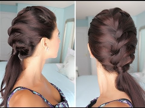 french braid - Here is a quick & simple way to imitate the look of a classic French Braid. Hope you guys enjoy it! My bracelet is from Keeping it Chic Etsy Store http://www...