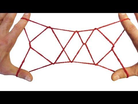 String Tricks! How To Make A 3 Diamond Jacob's Ladder