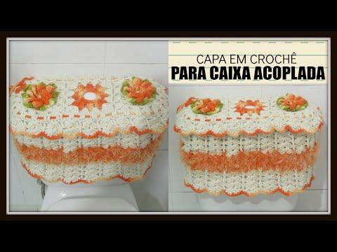 Juego de baño,mariposa,frutero a Croche - Youtube Downloader mp3
