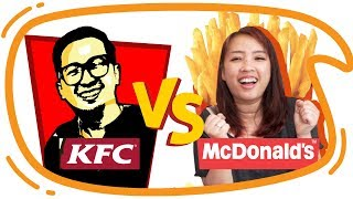 Video KFC vs McD !! Mari Kita Bandingkan ! MP3, 3GP, MP4, WEBM, AVI, FLV Juni 2019