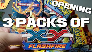 Opening 3 Pokemon TCG Packs of XY: Flashfire - EXcellent! by Flammable Lizard