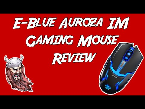 E-Blue Auroza IM Gaming Mouse Review