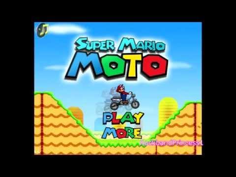 Super Mario Games Super Mario Moto Game