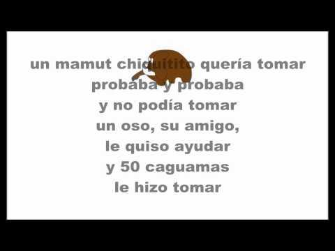 Un Mamut Chiquitito (Version Mexico) Cover