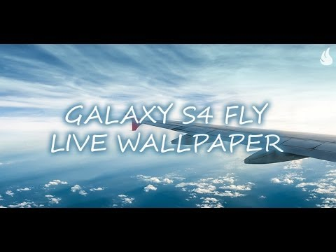 Video of Galaxy S4 Fly Live Wallpaper