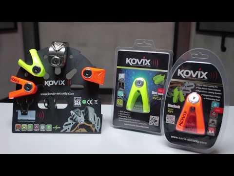 Kovix Alarmlı Gidon-Fren Kilidi