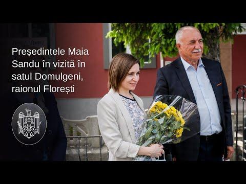 """Președintele Maia Sandu: """"Oamenii cu care am vorbit la Florești înțeleg că avem nevoie de o schimbare profundă în justiție"""""""