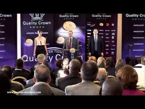 Dr Ahmed Yamani's speech in the International Qualty Crown ceremony in London (November 2012).