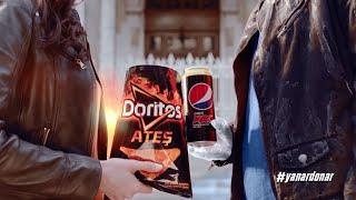 Yepyeni #YanarDonar İkili Doritos Ateş & Pepsi Max