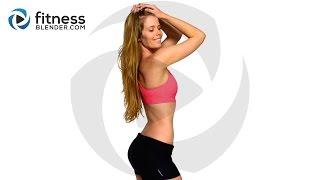 Abs, Butt and Thigh HIIT Cardio Workout - Bodyweight Cardio Interval Workout - YouTube