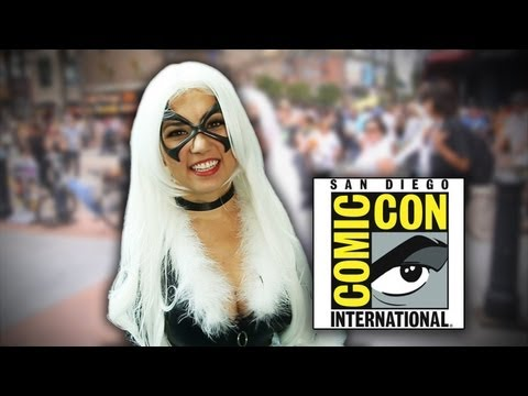 comic con - Trisha shows off the REAL Comic-Con experience! Get text alerts for each new video: http://motube.us/sourcefednerd More stories at: http://www.sourcefed.com ...