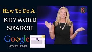 How To Do A Keyword Search