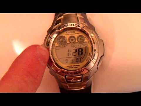 CASIO G-SHOCK, G-7100 REVIEW