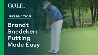 Video Brandt Snedeker: Putting Made Easy MP3, 3GP, MP4, WEBM, AVI, FLV Oktober 2018