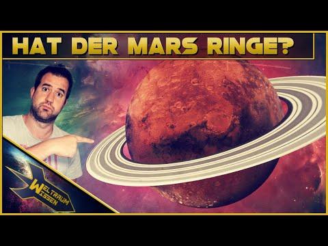Wie Saturn: Hatte der Mars Ringe?