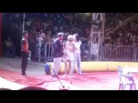 Circo Porto Rico Casamento do Palhaço palito em Pajuçara