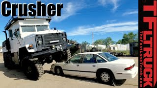 Military M923 5 Ton 6x6 Car Crusher: The Affordable Zombie Apocalypse Truck ( Part 3 ) by The Fast Lane Truck