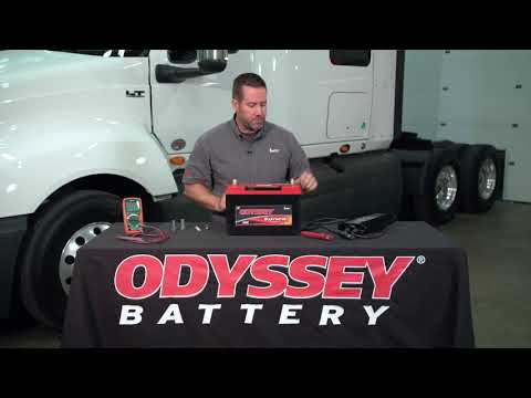 How to Test an ODYSSEY® battery