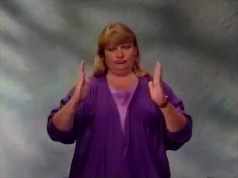 Small edition of old sign language videos