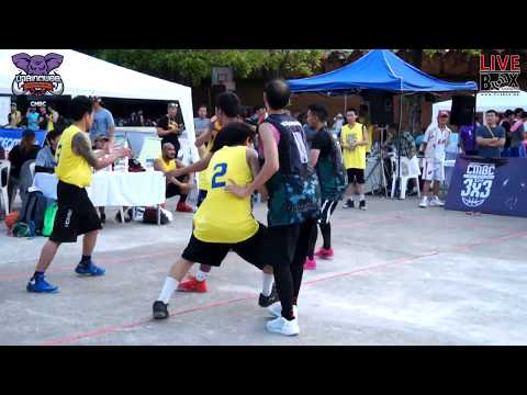 Chiang Mai Basketball Club l STREET BASKETBALL 3x3 2017 (30 เม.ย 2560) (PART1)