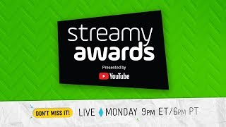 Video 8th Annual Streamy Awards presented by YouTube MP3, 3GP, MP4, WEBM, AVI, FLV Oktober 2018